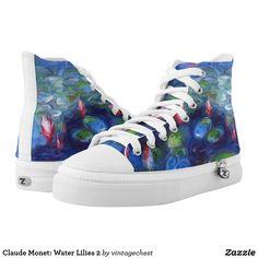 Claude Monet: Water Lilies 2 High-Top Sneakers