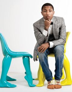 Pharrell Williams é o novo rei do pop