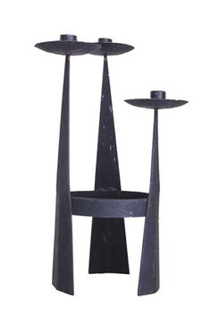 MID-CENTURY-MODERN-IRON-CANDLE-HOLDER-1950S-CALIFORNIA-MODERN-EAMES