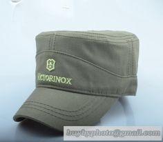 af067ce9f98 Victorinox Military Cap Flat-Topped Cap Hat Men Summer Outdoor Sports Cap  Baseball Cap Sun Hat Sun Army Green Topping