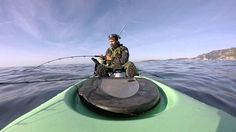Pélamide peche en kayak