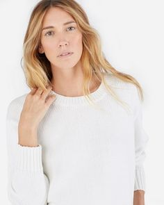 The Chunky Knit Cotton Crew - Everlane