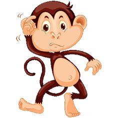 简单的猴子走路
