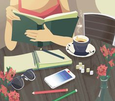 Animated gif shared by poesiageral. Find images and videos about gif, read and reader on We Heart It - the app to get lost in what you love. I Love Books, My Books, Arte 8 Bits, Beau Gif, Buch Design, Reading Art, Girl Reading, Anime Comics, Aesthetic Art