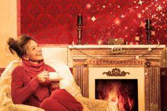 Fireplace Mantel Christmas Decoration Ideas