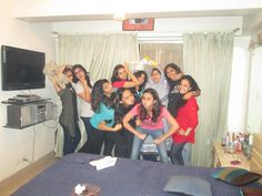 even at a farewell, we know how to spice it;)  By jessica parmar