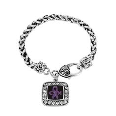 Chiari Malformation Support Bracelet in honor of my friend Kristie, who suffers from Chiari