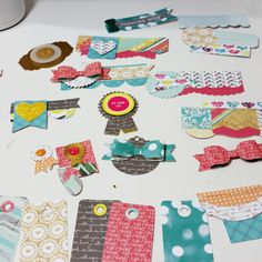Have you ever bought a paper collection that didn't have a lot of embellishments or just didn't want to spend the extra money to buy the pre-made embellishments? There was a discussion going on a s...