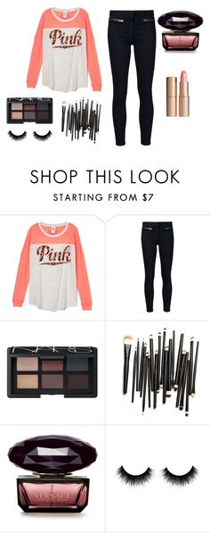 """Random :)"" by perrie-edwards-official-lm ❤ liked on Polyvore featuring beauty, Veronica Beard, NARS Cosmetics and Charlotte Tilbury"