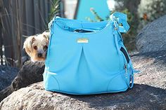 Doggie Design Sea Glass Mia Michele Dog Carry Bag >>> Click on the image for additional details. (This is an affiliate link) #CatCarriersStrollers