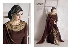 Ethnic Anarkali Indian Salwar Kameez Pakistani Suit Bollywood Designer Dress #Unbranded #SalwarKameez #WeddingPartyWear