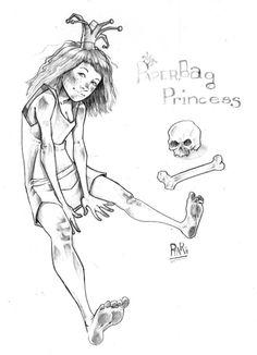 """""""-¡Oh, Elizabeth, estas hecha un desastre! Hueles a cenizas, tu pelo está todo enredado y estas vestida con una bolsa de papel sucia y vieja. Vuelve cuando estés vestida como una verdadera princesa."""" La Princesa Vestida Con una Bolsa de Papel; Robert N. Munsch #DLIJ por @totemguard"""