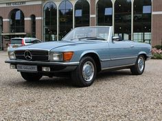 Mercedes-Benz 350SL with full service history (bj 1972)