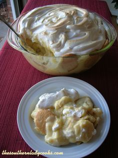 "OLD-FASHIONED BANANA PUDDING ""This is the BEST recipe for banana pudding that there is! The way I have always made it, just like my Mama did."" 