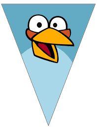 Resultado de imagen para banderin de angry birds