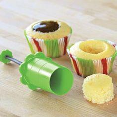 Cupcake core! Amazing!