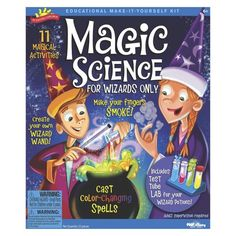 Alex Brands Scientific Explorer 0SA247 Magic Science for Wizards Only Kit