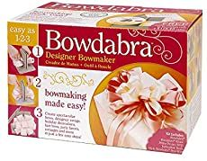 Darice 00407001410 Bowdabra Bow Maker and Craft Tool, Gray -- You can find more details by visiting the image link. (This is an affiliate link) Gift Wrapping Bows, Gift Bows, Christmas Tree Bows, Christmas Tree Toppers, Christmas Crafts, Christmas Cooking, How To Make Wreaths, How To Make Bows, Making A Gift Basket