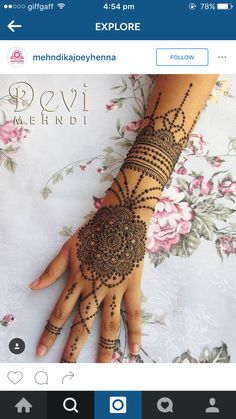 Mandala #bridal #mehndi                                                                                                                                                                                 More