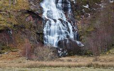 Wo ist bloß der goldene Schnatz? © Shutterstock.com Hogwarts, Harry Potter, Waterfall, Outdoor, Golden Snitch, Last Minute Vacation, Scotland, Outdoors, Waterfalls