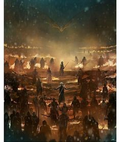 'Game Of Thrones' TIMED edition print by Andy Fairhurst through Bottleneck Gallery Game Of Thrones Time, Science Fiction, Creepy Images, The Longest Night, Les Continents, Arkham City, Pop Culture Art, American Gods, Night King