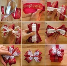 Aprende a realizar lazos elaborados y complejos y sorprende con fantásticos envoltorios para tus regalos navideños.