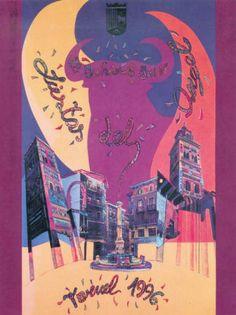 Carteles Fiestas del Ángel Teruel 1996