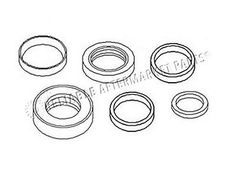 2520-N3 New Ezee On Equipment Misc 2 pc Hydraulic Cylinder Seal Kit Rod & Bore