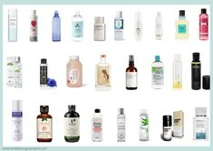 Round-up of all the micellar waters available #organic #eco #vegan #parabenfree #natural #skincare
