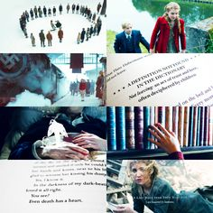 The Book Thief is just perfection. I've never seen the movie, but it is my favorite book