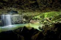 Natural Arch near Numinbah, Australia