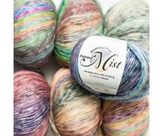 Knitting Fever Painted Mist - Top of the Whorl