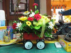 Dollhouse Miniature Furniture - Tutorials | 1 inch minis: Floral arrangement