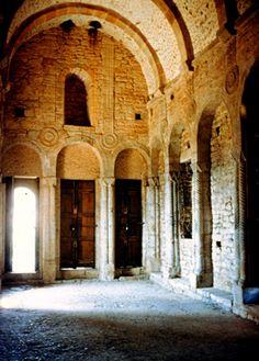 05. Interior de Santa María del Naranco. Oviedo.