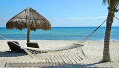 Relax on the beach#JSHammock