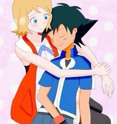Serena and Ash Amourshipping