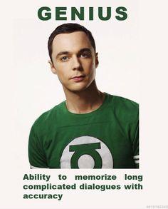 Green Lantern Sheldon, Space Sector 2814 (Big Bang Theory)