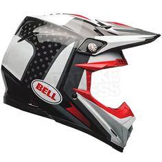 Bell Moto 9 Carbon Flex Helmet - Vice Black White