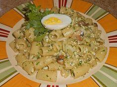 Chef JD's Comfort Cuisine: Mezzi Occhi di Lupo Pasta con Finocchio, Portobell...