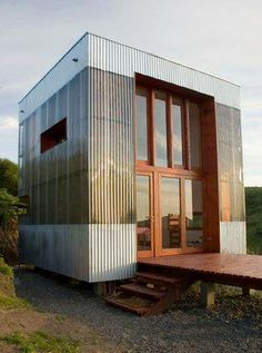 Guest House AATA Associate Architects Tiny houses Chile and