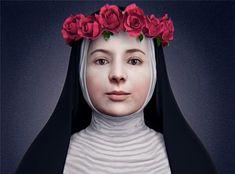 ¡La ciencia revela el rostro frontal de Santa Rosa de Lima! | Perú Católico Dominican Order, St Rose Of Lima, Blessed Mother Mary, Sacramento, Saint, Catholic, Statue, Google, Angels