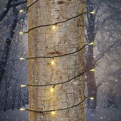 LED-valoketju, lämpimän valkoinen