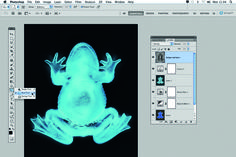 Photoshop X-Ray effect in 6 steps - tutorial + video