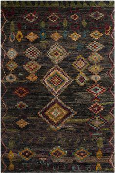 Tangier Black Area Rug