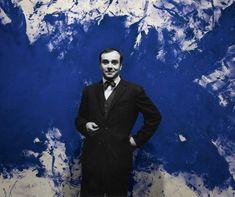 International Klein Blue, Van Gogh, Monochrome, Moma Art, Yves Klein Blue, Tv Movie, Art Courses, Comic, French Artists