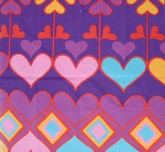 Vintage fabric.Parkertex design by Natalie Gibson.