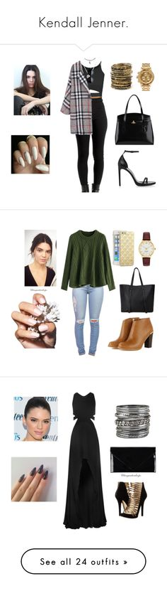 """Kendall Jenner."" by tinyraindrops ❤ liked on Polyvore featuring Topshop, Yves Saint Laurent, Vivienne Westwood, Rina Limor, Nixon, Amrita Singh, Chicwish, Forever 21, Sonix and Kate Spade"