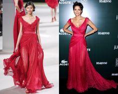 Halle Berry, Elie Saab dress
