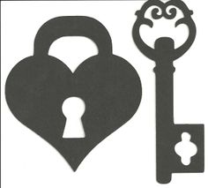 Jennifer Collector of Hobbies: Lock and Key Free Svg File
