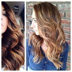 Before/After by hairstylist Megan Lenton @ Salon del Sol  http://meganlenton.wix.com/hairandmakeup